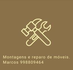 Montagem e desmontagem de móveis.serviços em geral
