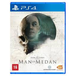 Man Of Medan Ps4 Mídia Física Usado
