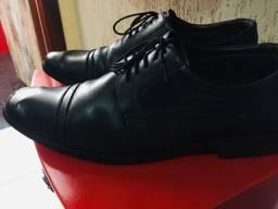 Sapato social Di pollini em couro legítimo
