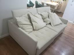 Sofa de Linho + 4 Cadeiras de Linho