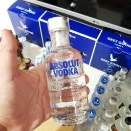 Miniatura Vodka Absolut 200ml - Original e Lacrada