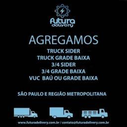 Agrega-se truck sider e truck Grade Baixa - Jandira/SP
