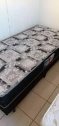 Cama Box de solteiro com colchão e base para colchão de solteiro