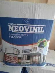 Preço relâmpago! Selador acrílico 16L Neovinil na Cuiabá tintas