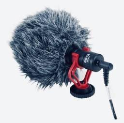 Microfone Boya BY-MM1 condensador cardióide preto