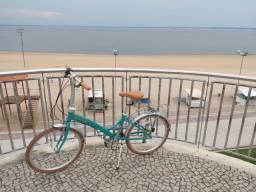 Bicicleta Dobrável Aro 20 Durban Rio 6 Marchas Turquesa