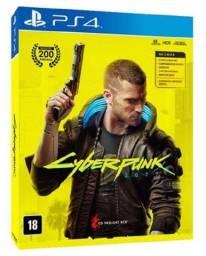 Cyberpunk 2077 Jogo para PS4 - Game em Mídia Física - Playstation 4