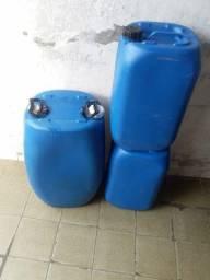Tambor plástico