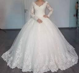 Vestido de noiva 48/50 novo