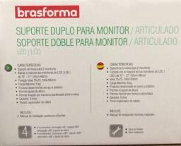 SUPORTE DUPLO PARA MONITOR  SBRM721