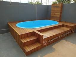Deck com Piscina a partir de R$3.500,00.