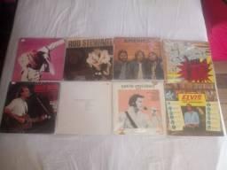 LOTE 8 LPS DE ROCK INTERNACIONAIS