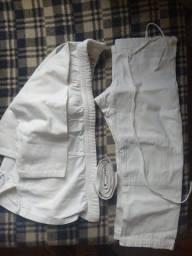 Kimono Infantil. (até 9 anos) + Faixa branca