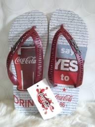 Chinelos Coca Cola