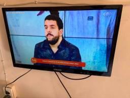"""Tv Led 24"""" com Função Monitor Samsung 60Hz Full HD, Entradas hdmi e usb"""