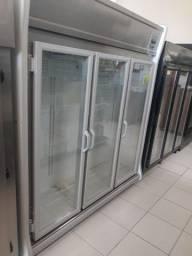 Geladeira auto serviço 3 portas Gelopar mercado padaria * cesar