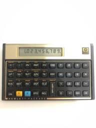 Calculadora Financeira HP 12C Gold ótimo estado