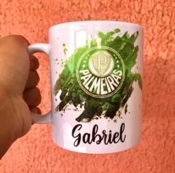 Caneca Palmeiras Personalizada