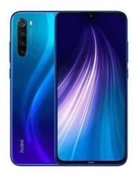 Xiaomi note 8 64 gigas preto e azul promoção