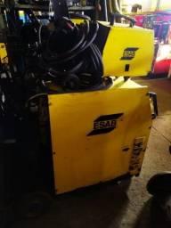 Máquina De Solda Mig Esab Topflex 350
