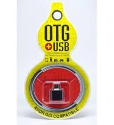 OTG V8 para USB fêmea adaptador para celular