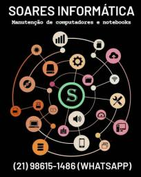 Soares Informática Manutenção de computadores e notebooks
