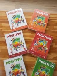 Coleção de apostilas do positivo 7°ano