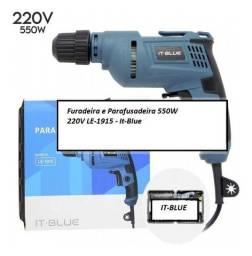 Título do anúncio: Furadeira e Parafusadeira 550w 220v Le-1915 - It-blue