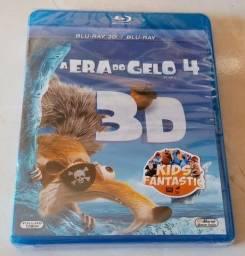 Blu ray 3D + 2D A Era do Gelo 4