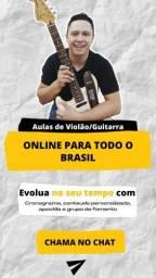 Aulas de Violão e Guitarra Online