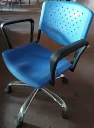 Título do anúncio: Cadeira Giratória Ass/Enc Injetado -aceita cartão-frete grátis RP