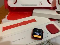 Apple watch serie 6 - GPS - product red - novo - garantia 11/2021