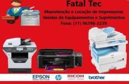 Manutenção em impressoras e copiadoras