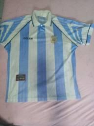 Camisa da Argentina oficial G sem número