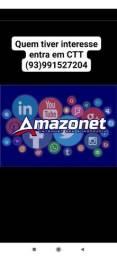 Amazonet internet 100 reias a instalação ??