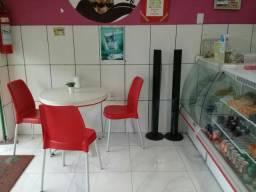 Balcão Refrigerado+Mesas e cadeiras