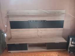 Rack/Estante com painel e suporte para TV novo