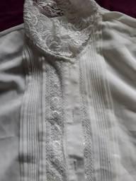 Roupas brancas blusas para magras