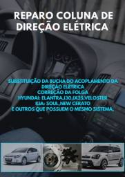Reparo coluna de direção elétrica Hyundai i30 Veloster Kia Soul New Cerato entre outros