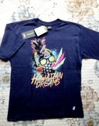 2 Camisetas Hd Gg Infantil Masc. 62 X 47 Cm / Tamanho 7