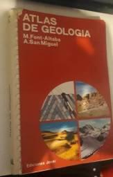 Livro - Atlas de Geologia - M. Font Altaba e A. San Miguel