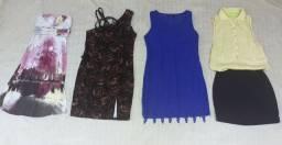 Lote de vestidos Tam.P