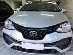 Título do anúncio: Etios Sedan  1.5 X Flex / Gnv 2019