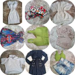 Lote roupas