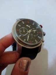 Relógio puma e pulseira mormai