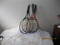 Raquetes de Ténis Usadas e Acessórios