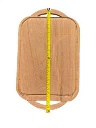 Tabua de churrasco e bandeja rustica 40 mm espessura