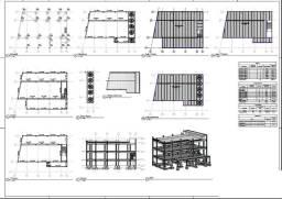 Projeto/Orçamento Premoldados; Prefabricados; Metálico