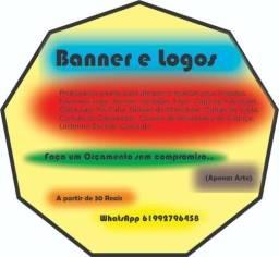 Logo, Banner. Artes Gráficas em Geral