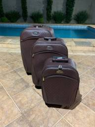 Conjuto de malas - como um novo
